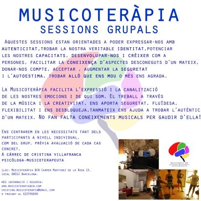 sessions grupals regulars setembre 2015