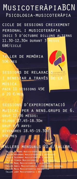Musicoterapia en Barcelona